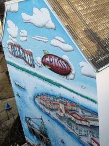 Wandbild Giebelwand Erlanger Straße